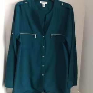 🌺 Calvin Klein women's blouse size XL